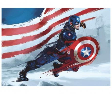 Captain America Tapéta 115x160 cm