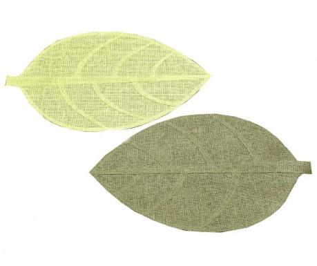 Set 2 individualuri Leaf 33x44 cm