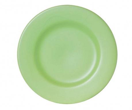 Talerz deserowy Inci Green