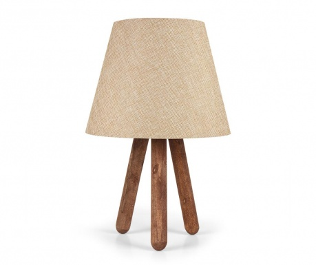 Noční lampa Katy Cream Brown