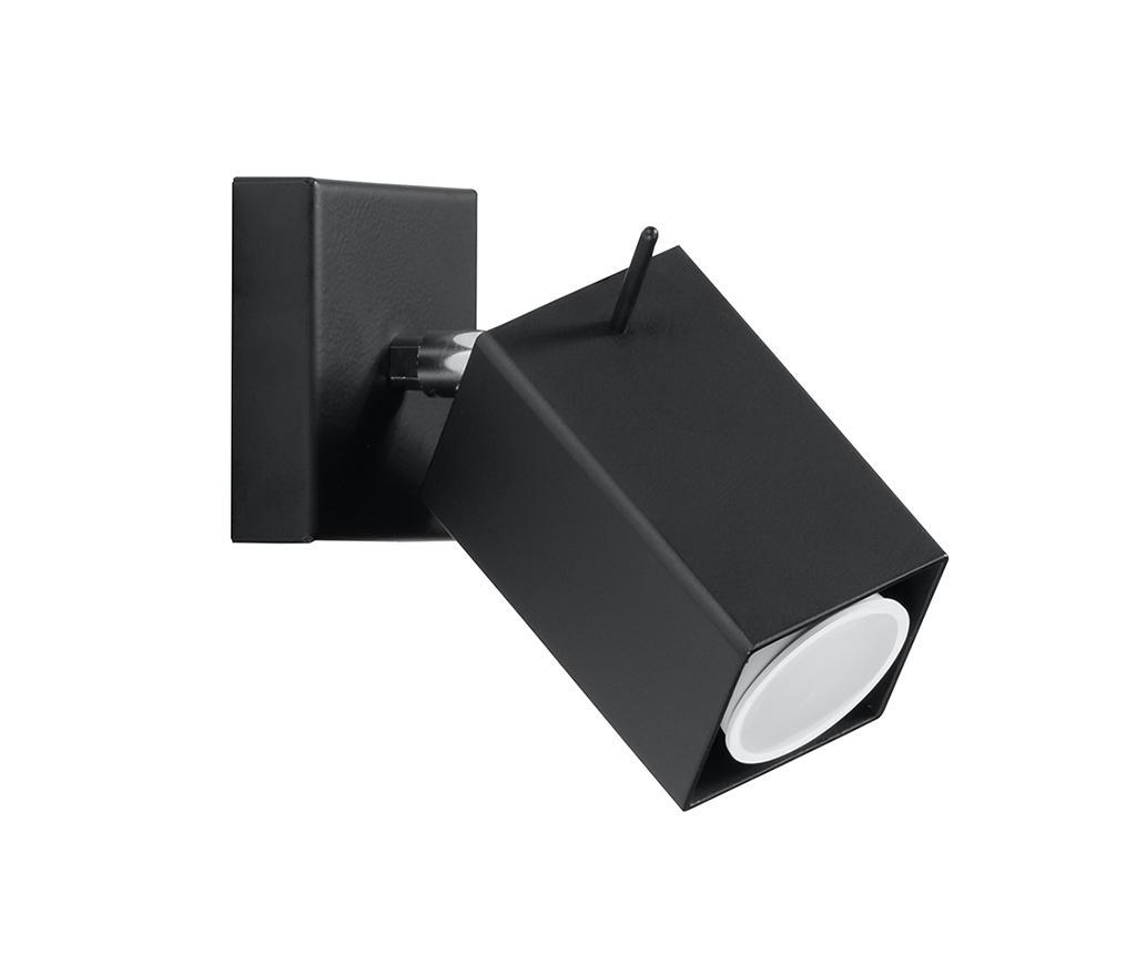 Aplica de perete Toscana Black - Nice Lamps, Negru