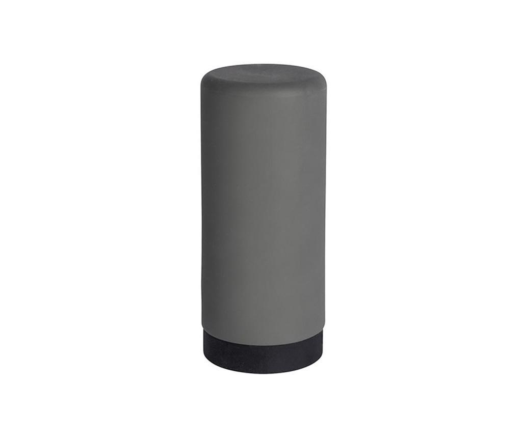 Dispenser detergent lichid de vase Easy Squeeez-e Grey 250 ml - Wenko, Gri & Argintiu