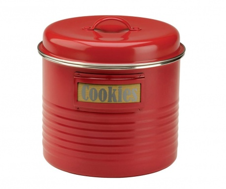 Posuda s poklopcem Vintage Kitchen Red