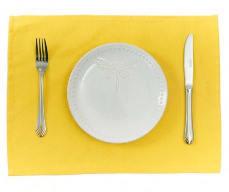 Sada 2 prestieraní Plane Yellow 33x45 cm
