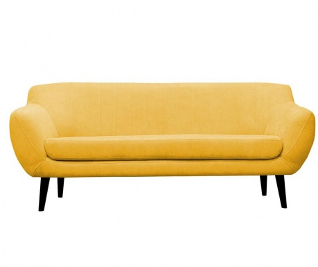 Canapea 3 locuri Toscane  Yellow