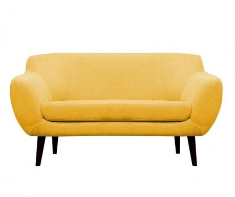 Canapea 2 locuri Toscane  Yellow