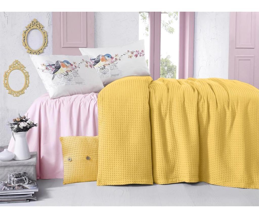 Cuvertura Rami Yellow 230x240 cm