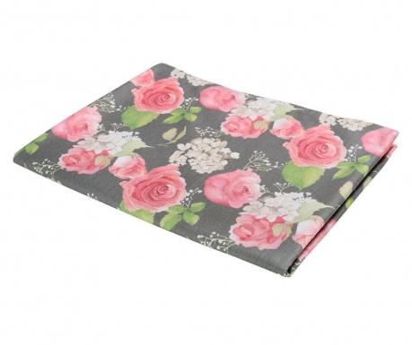 Flowery Dark Asztalterítő 140x140 cm