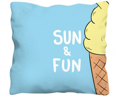 Perna decorativa Sun & Fun 43x43 cm
