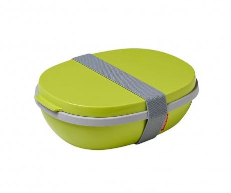 Κουτί μεσημεριανού γεύματος Ellipse Duo Lime 1.425 L