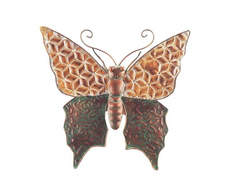 Decoratiune de perete Butterfly Geometric