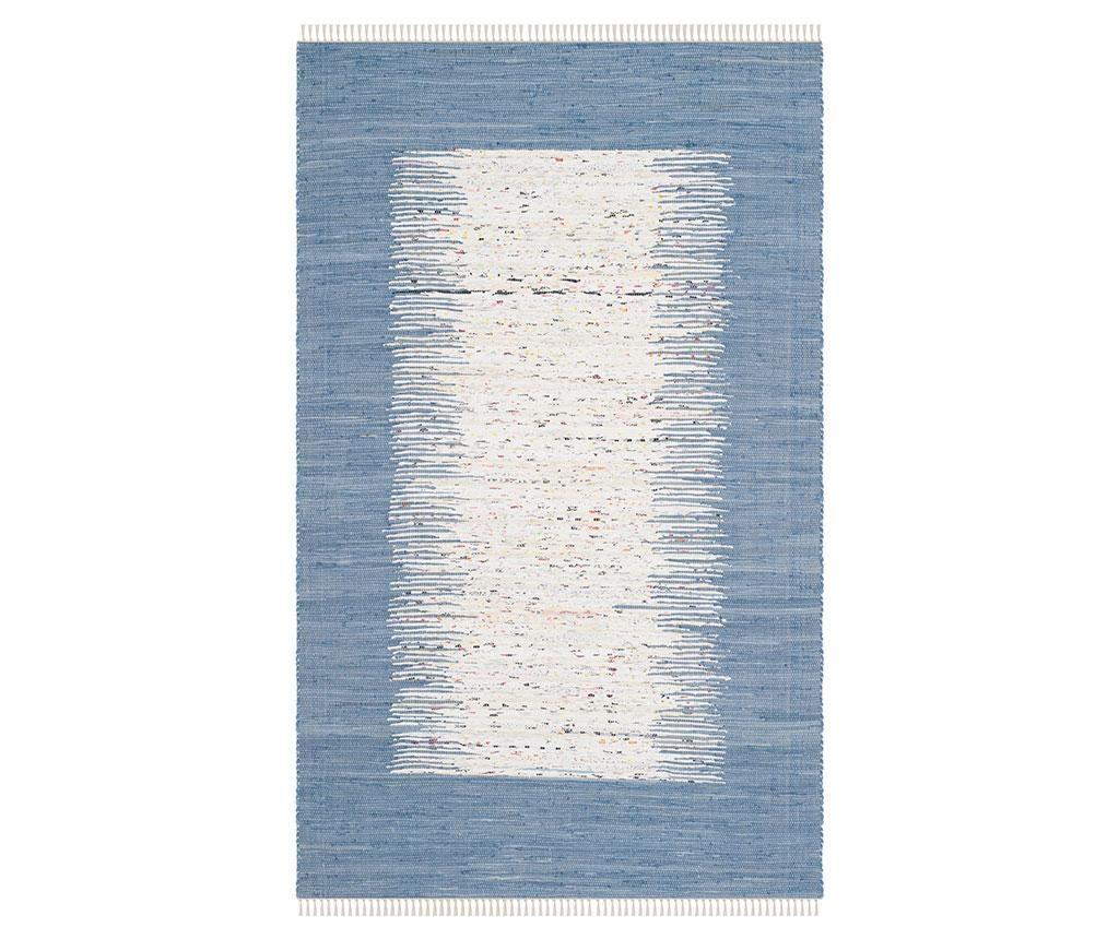 Kobereček Saltillo Ivory Dark Blue 120x180 cm