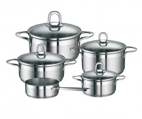 9-delni set posode za kuhanje Sienna