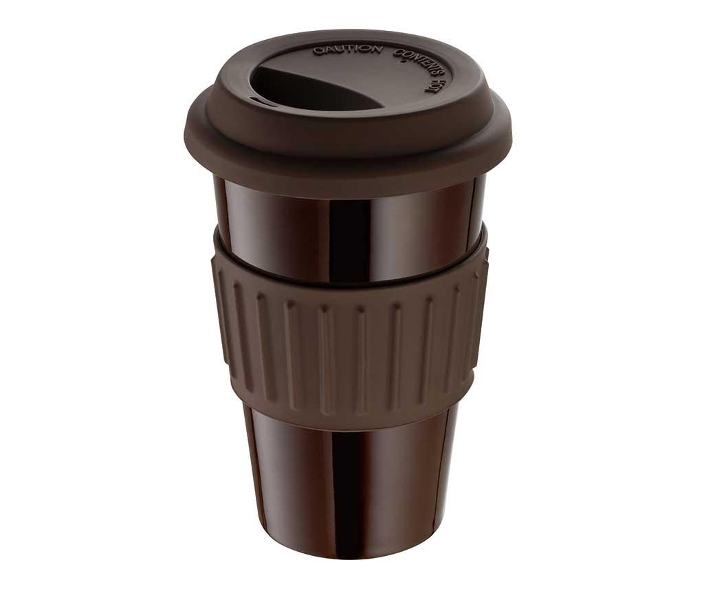 Cana de calatorie Coffee Brown 300 ml