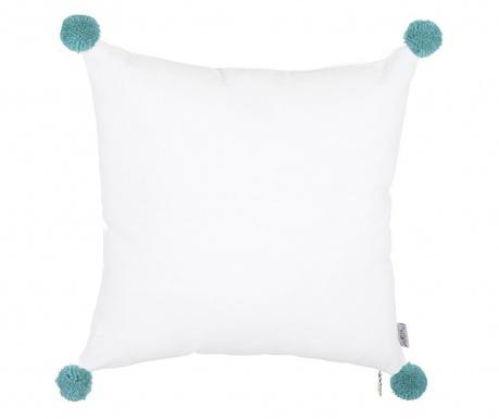 Prevleka za blazino Clover White and Blue 41x41 cm