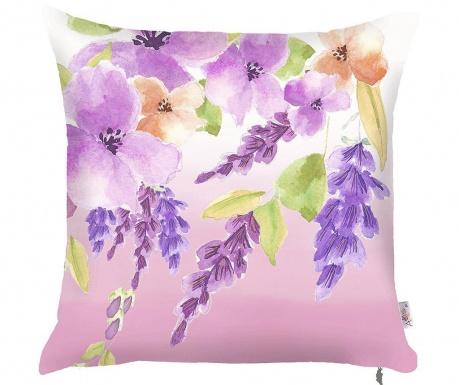 Obliečka na vankúš Purple Garden 43x43 cm