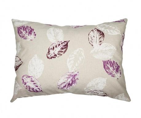 Poduszka dekoracyjna Purple Leaves 50x70 cm