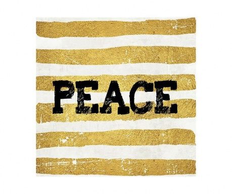 Obraz Peace 30x30 cm