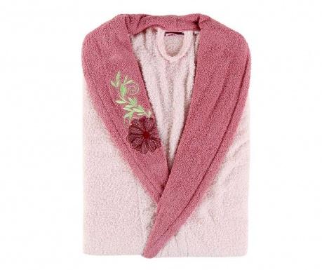 Halat de baie dama Daily Pink Flower S/M