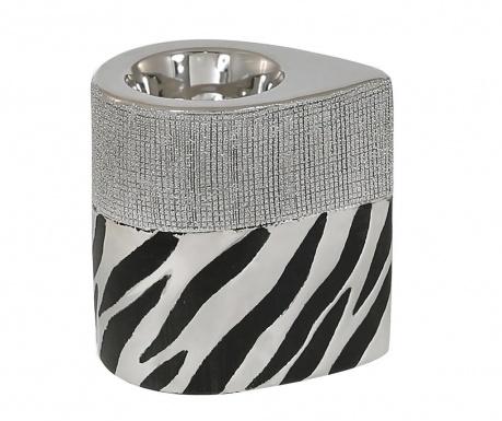 Podstavec na svíčku Zebra Print