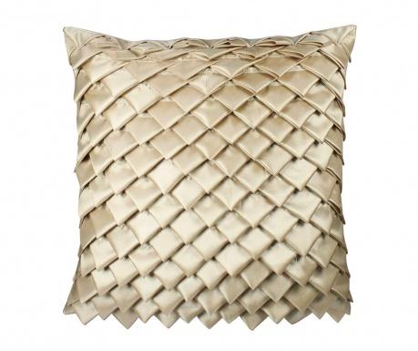 Dekorační polštář Gold Folds 43x43 cm