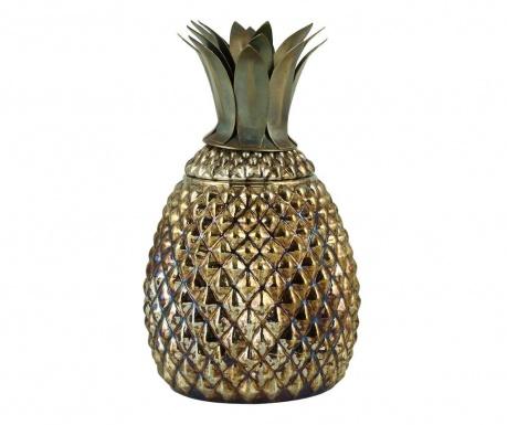 Dekorační nádoba s víkem Pineapple