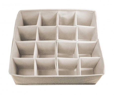 Modular drawer organizer Extra Cream