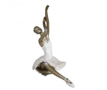 Dekorace Gold Ballerina