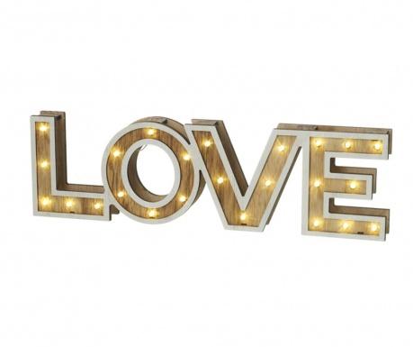 Světelná dekorace Love