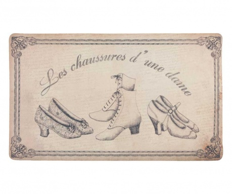 Rohožka Les Chaussures 44x74 cm