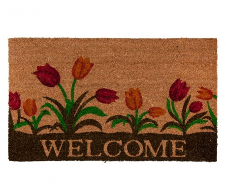 Rohožka Welcome Tulips 45x75 cm