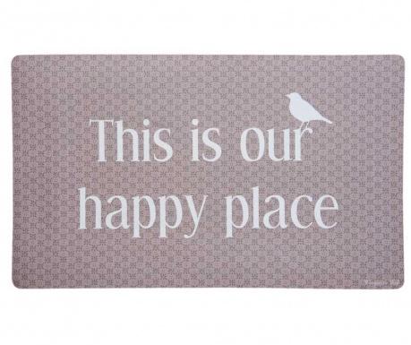 Rohožka Our Happy Place 45x75 cm