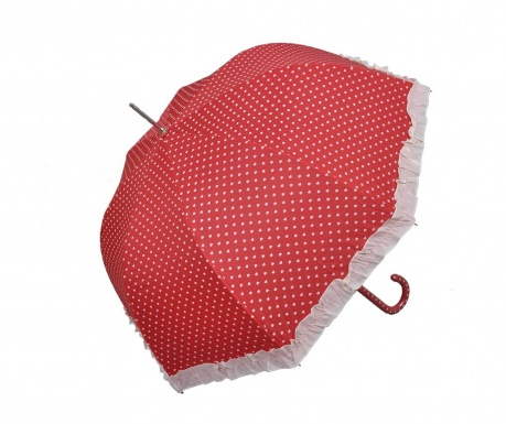Parasolka Hearts Red