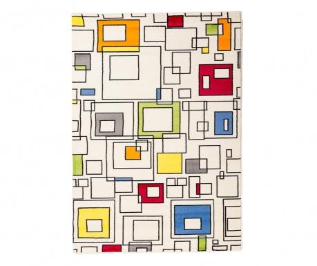 Koberec Artistic Squares White