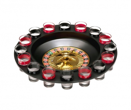 Roulette with shots Russian