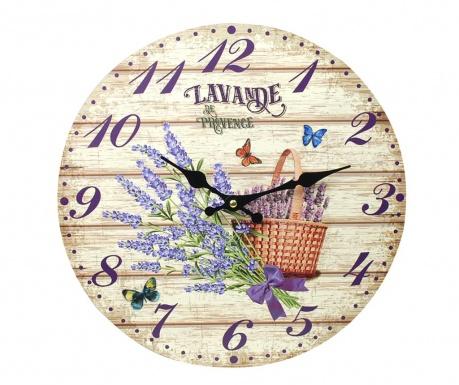 Nástenné hodiny Lavender Bouquet