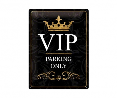 Wall decoration VIP