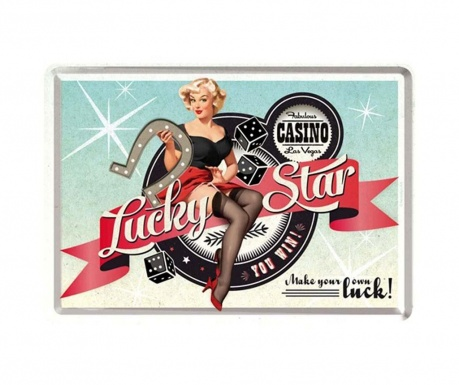 Postcard Lucky Star