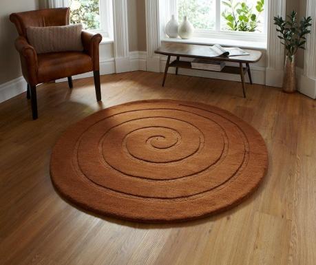 Koberec Spiral Brown