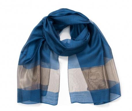 Šátek Fine Blue 70x196 cm