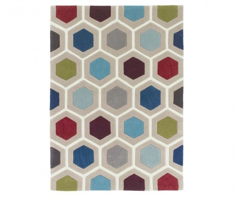 Koberec Chroma Hexagonal Multicolor 120x170 cm