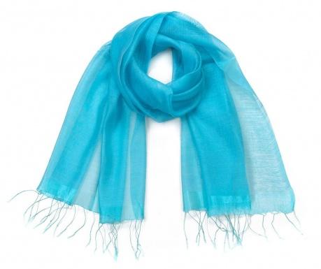 Šátek Floria Blue 70x180 cm