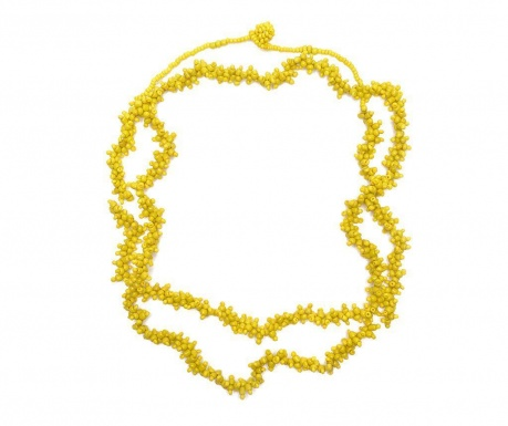 Naszyjnik Yellow Papua