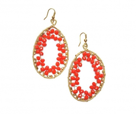 Earrings Red Olis
