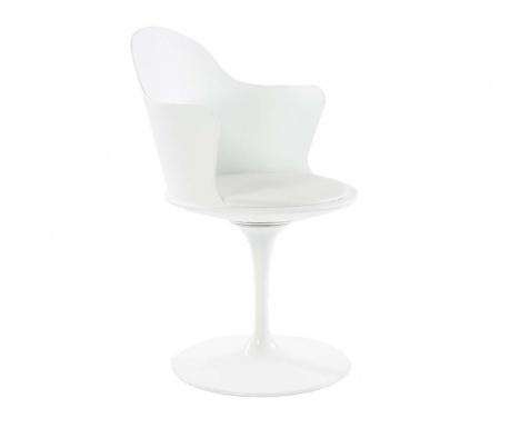 Otočná židle Granada White Arms