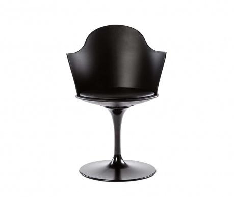 Rotating chair Granada Black Arms