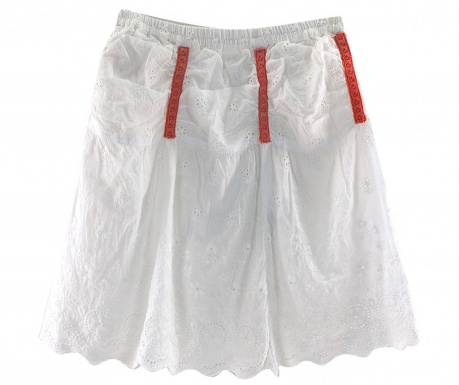 Skirt Simple White