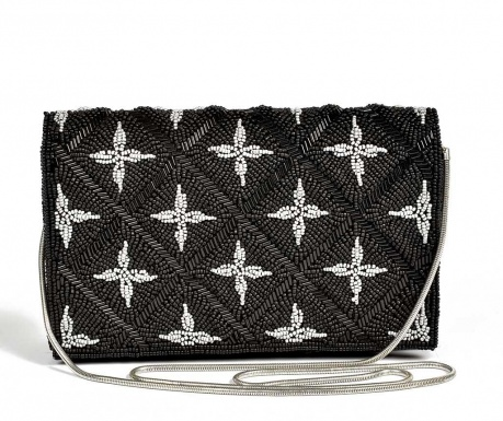 Envelope bag Silver Stars