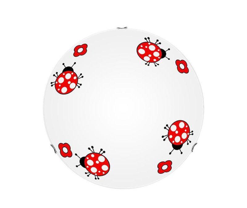 Stropna svetilka Ladybug S