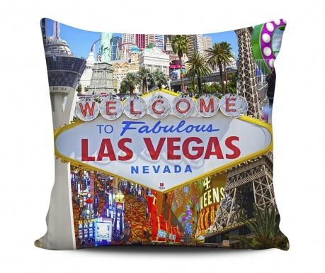 Dekoračný vankúš Welcome Las Vegas 43x43 cm